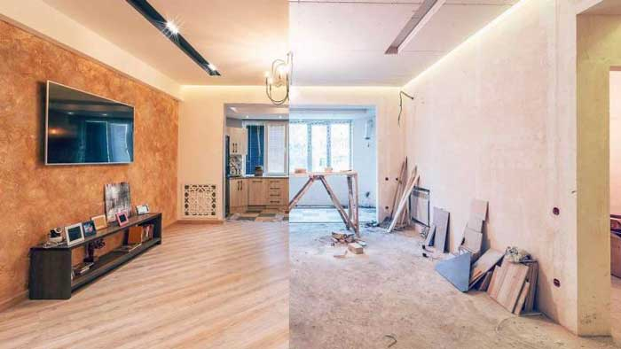 هزینه بازسازی خانه