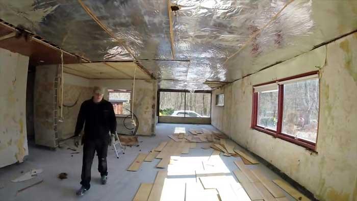 بازسازی منازل مسکونی با کمترین هزینه