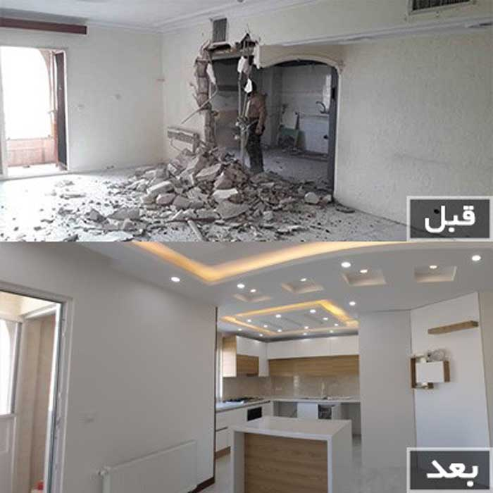 شرایط و هزینه بازسازی ساختمان و خانه